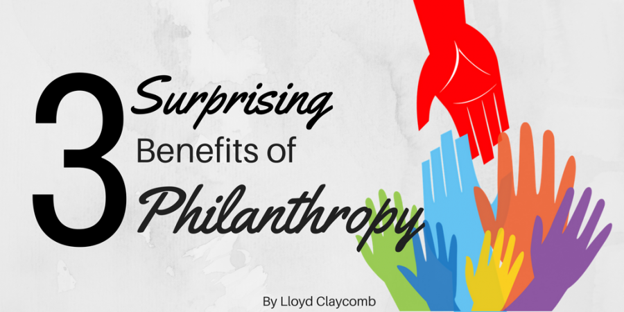 benefits of philanthropy