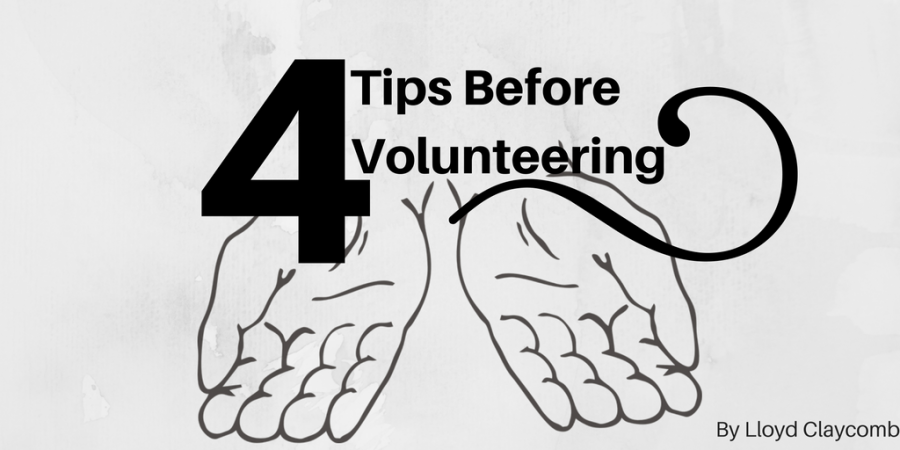 tips before volunteering