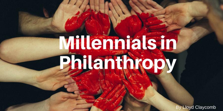 lloyd claycomb millennials philanthropy